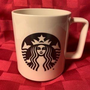 Starbucks Coffee Mug 2015 Mermaid Logo 14 Oz
